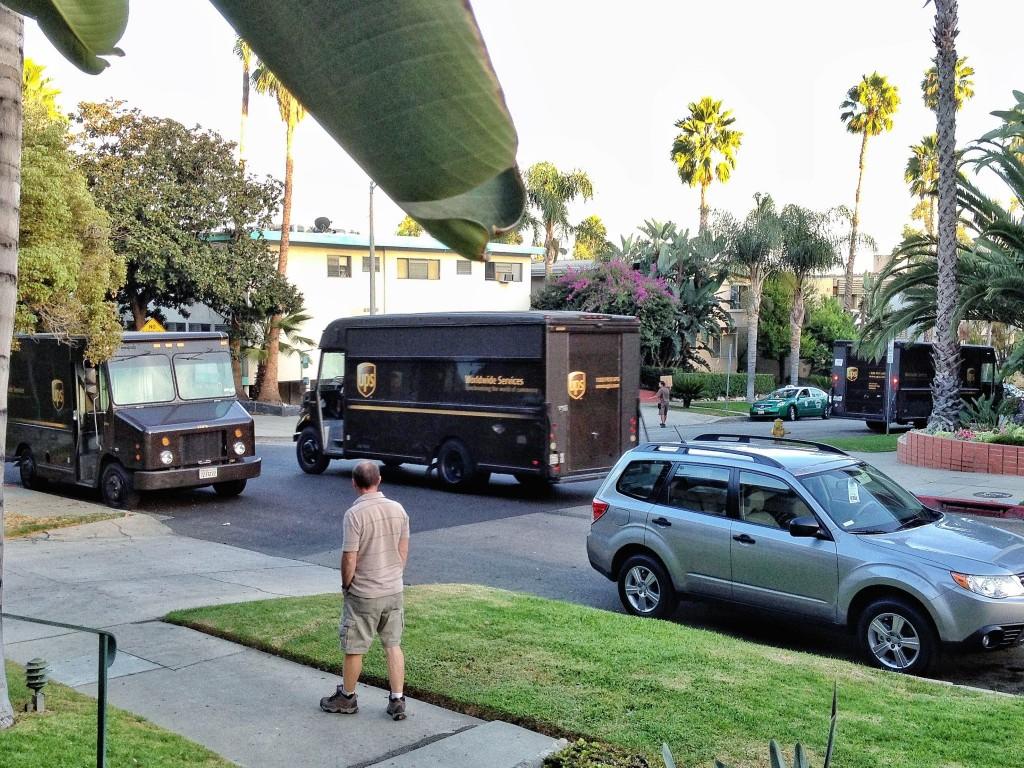 UPSler vızır vızır
