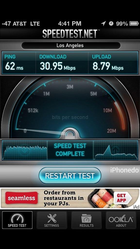 LTE iPhone 5