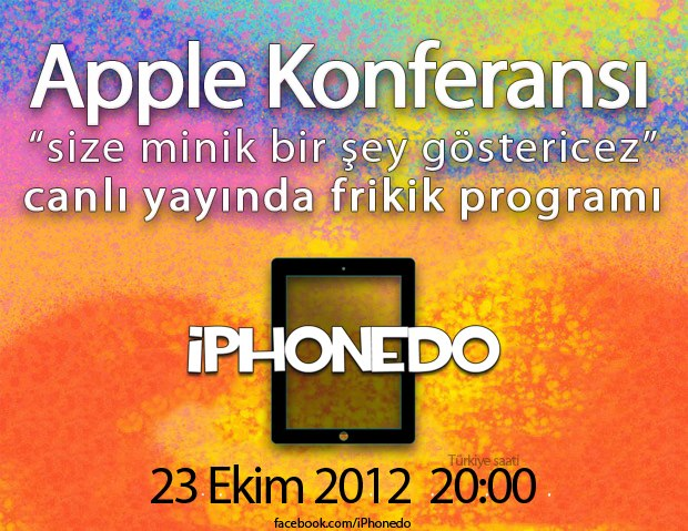 Apple Keynote - 23 Ekim 2012