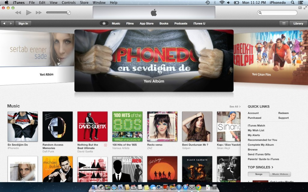 iTunes Featured