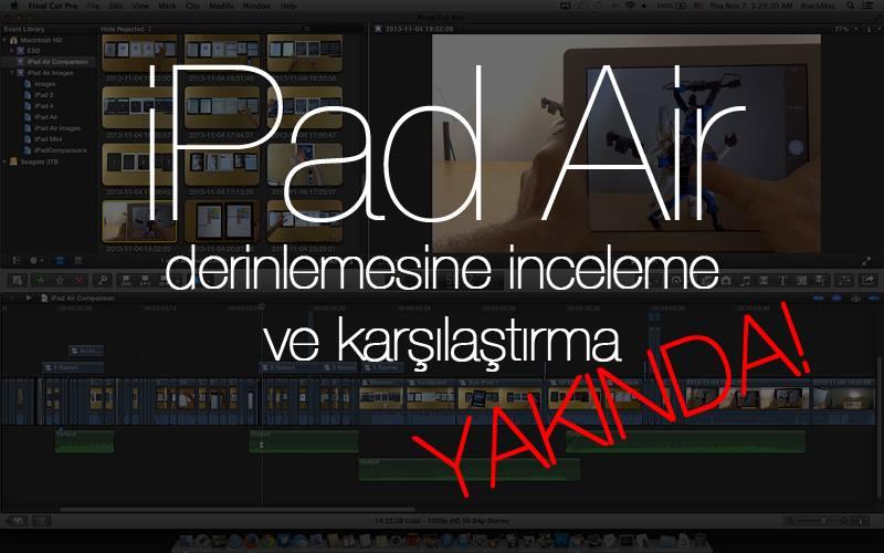 iPad Air Derinlemesine inceleme