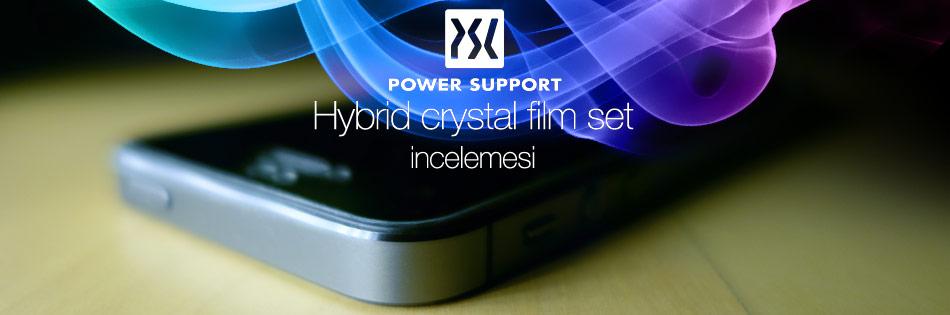 Hybrid crystal film set