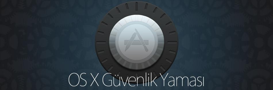 OS X Güvenlik Yaması